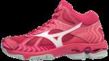 WAVE Bolt 7 MID-high | woman | Azalea/White/Camellia Rose_