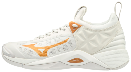 Mizuno Momentum | Women | White/Gold