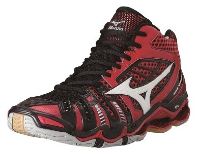 Mizuno wave Tornado 8 MID-high | red - black