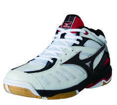 Mizuno Rally 4 MID | white