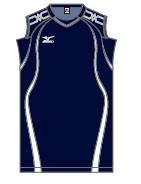 Mizuno dames/meisjes trainingshirt zwart