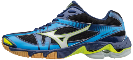 Mizuno wave Bolt 6 | black-blue