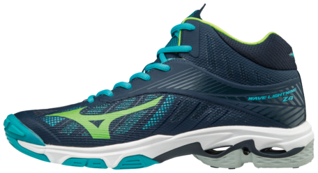 Mizuno Wave Lightning Z4 MID-high / Navy-green