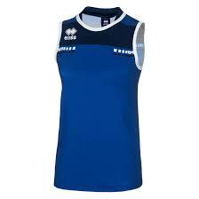 Errea Blanca trainingshirt blauw maat S