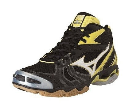 Mizuno wave Bolt 2 Mid-high | black/yellow