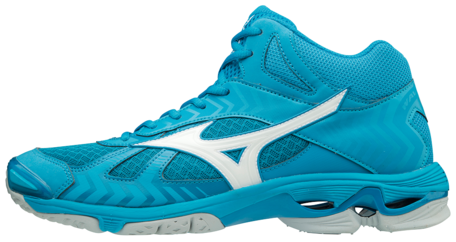 Mizuno wave Bolt 7 MID-high | Jewel Blue
