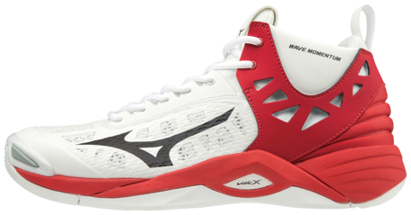 Mizuno wave Momentum MID | White/Red