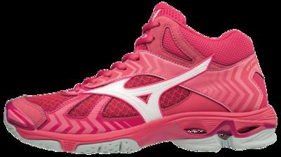 WAVE Bolt 7 MID-high | woman | Azalea/White/Camellia Rose
